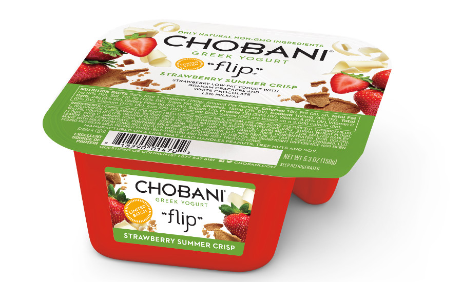 Chobani Flip Strawberry Crisp