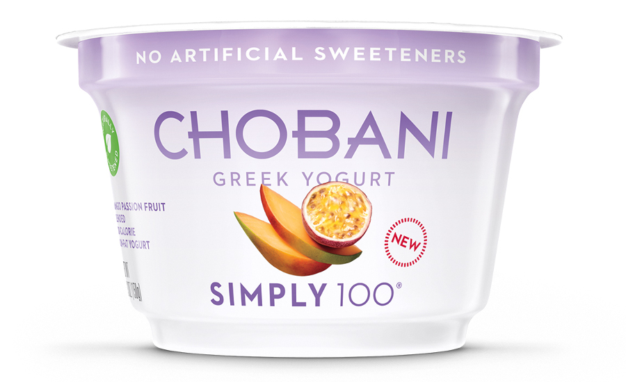 Chobani Simply 100 Mango Passion Fruit