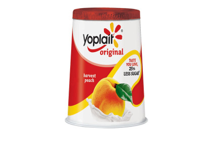 Yoplait reduced sugar cup