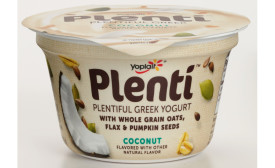 Yoplait Plenti Greek yogurt coconut
