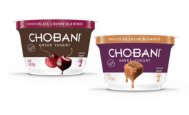 Chobani winter limited batch flavors