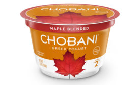 Chobani Limited Batch Maple Greek Yogurt
