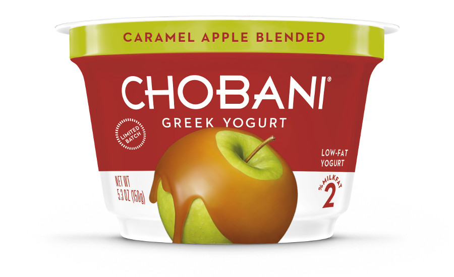 Chobani caramel apple blended