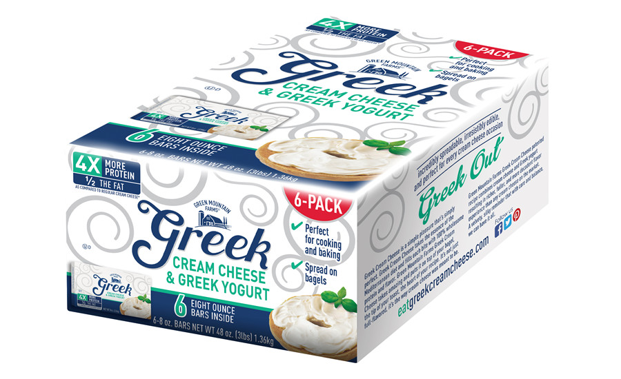 Franklin Foods 6 Pack Greek Cream Cheese