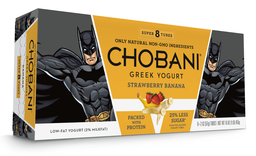 Chobani Kids-Strawberry-Banana-Tubes