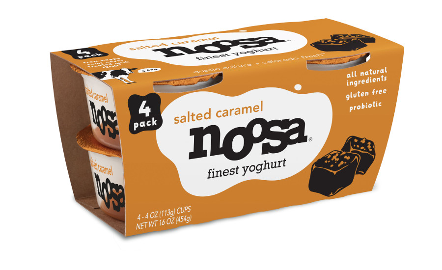 Noosa yogurt salted caramel 4-packs
