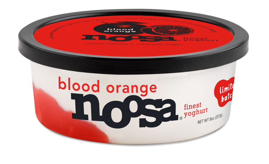 Noosa yogurt blood orange flavor