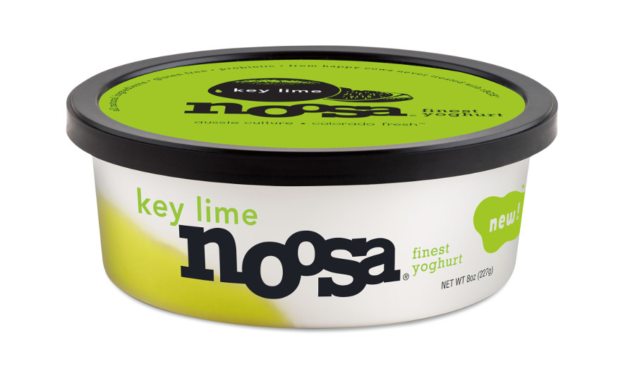 Noosa yogurt Key Lime flavor