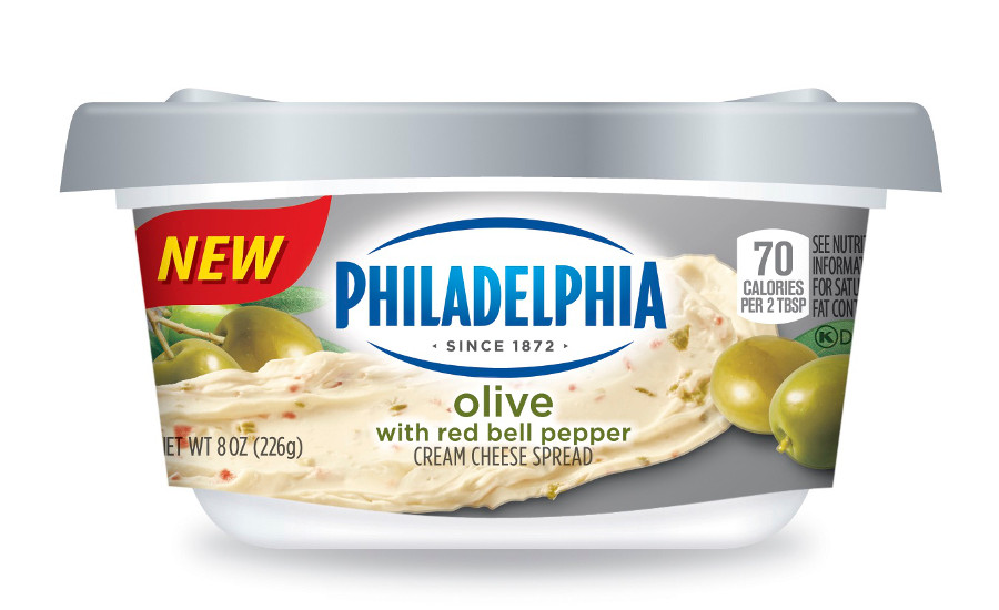 Philadelphia Cream Cheese olive flavor
