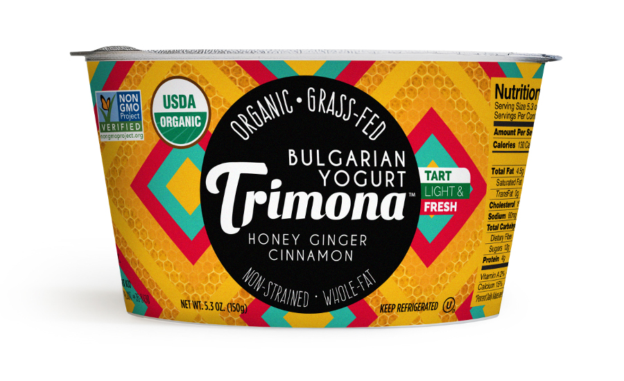 Trimona Bulgarian yogurt honey cinnamon ginger