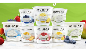 Muuna flavored cottage cheese
