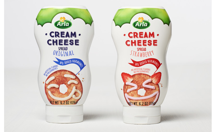 Arla cream cheese squeeze tubes