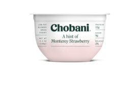 Chobani A Hint Of strawberry