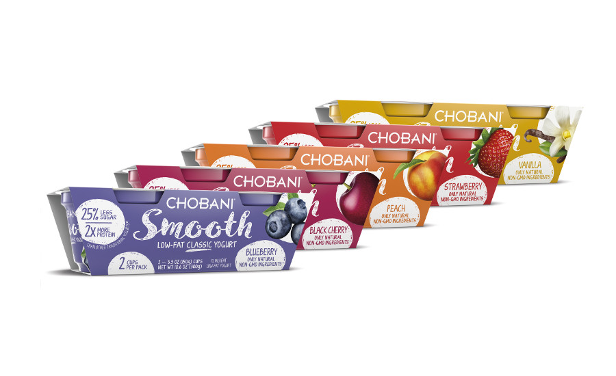 Chobani Smooth yogurt group image