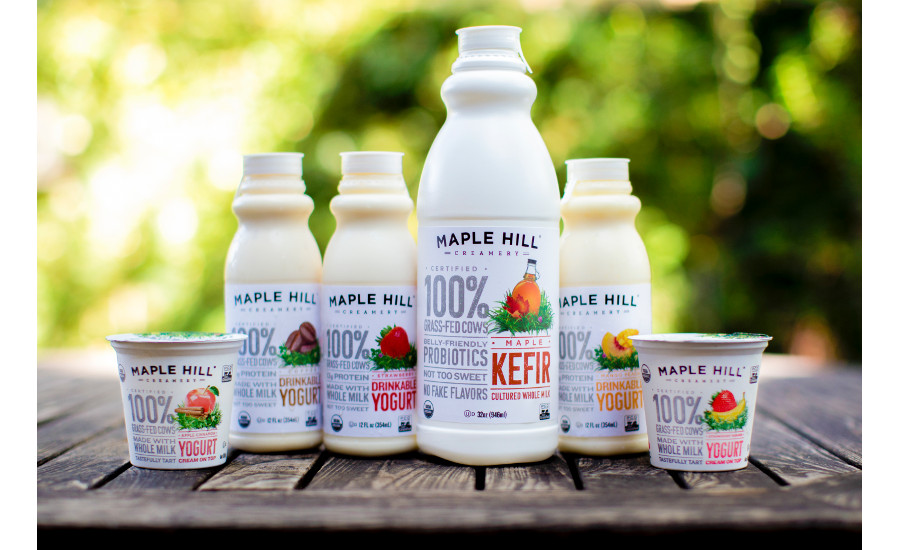 Maple Hill Creamery new yogurt varieties
