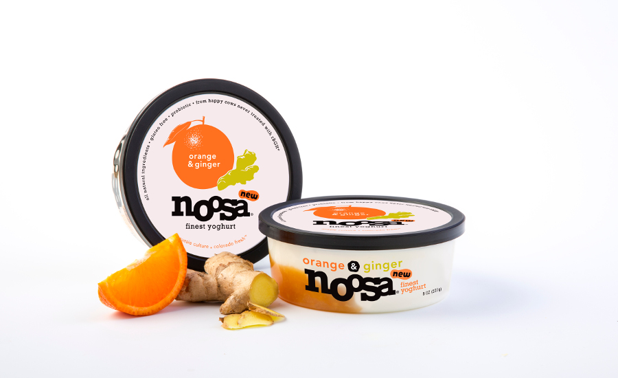 Noosa yogurt orange ginger flavor