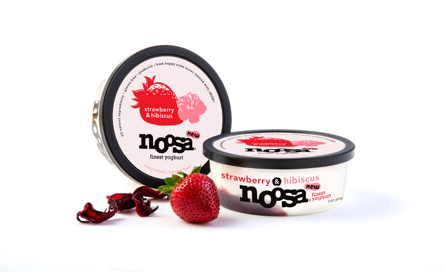 Noosa yogurt strawberry hibiscus flavor