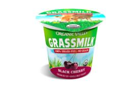 Organic Valley Grassmilk Black Cherry yogurt
