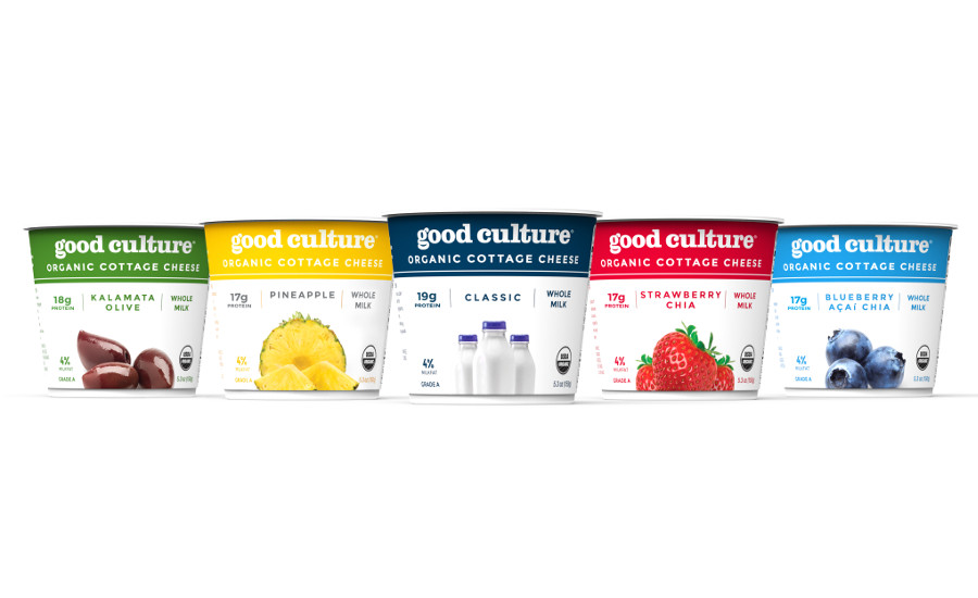 good culture organic cottage cheese new lineup