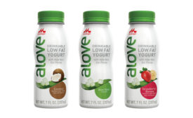 Alove aloe vera drinkable yogurts
