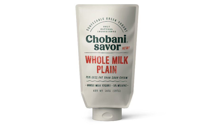 Chobani Savor whole milk plain