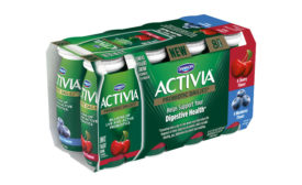 Dannon Activia Dailies cherry, blueberry mix pack