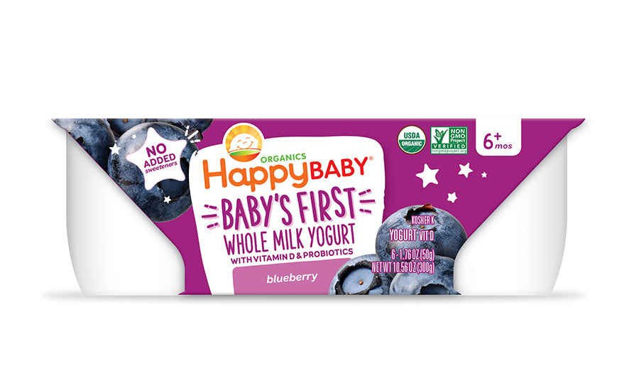 Happy Family Releases New Organic Yogurts For Babies