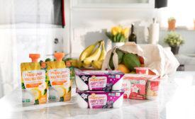 Happy Family organic yogurt for tots and babies