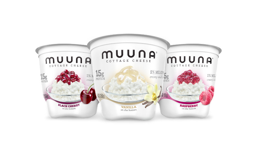 Muuna three new flavored cottage cheese