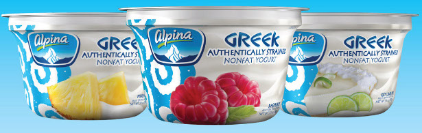 ALPINA FOODS RELEASES NEW ALL-NATURAL GREEK YOGURT FLAVORS