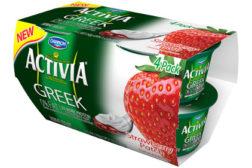 Dannon Activia Greek - strawberry