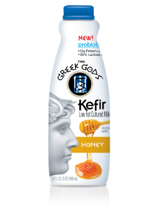 Greek Gods kefir honey