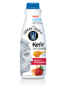 Greek Gods kefir strawberry