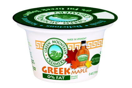 Green Mountain Creamery Maple Greek Yogurt- feature