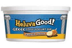 Heluva Good Greek-style yogur dips French Onion