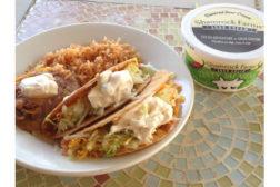 Shamrock Farms flavored sour cream