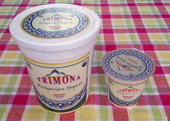 Trimona Bulgarian yogurt - inbody