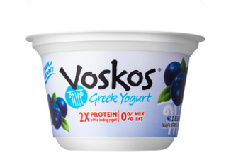 Voskos Greek yogurt blueberry