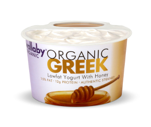 Wallaby Greek LF Yogurt Honey