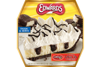 Edward's Mounds cream pie - feature