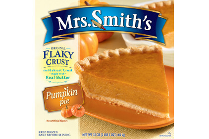 Mrs Smiths butter crust pies pumpkin - feature