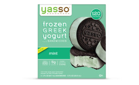 Yasso frozen Greek yogurt sandwiches - mint