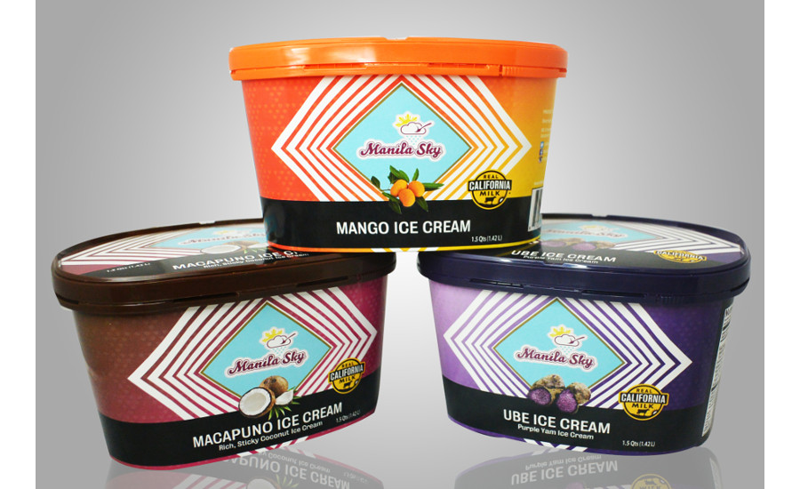 New dairy products: Manila Sky Ice Cream is an Asian-inspired line