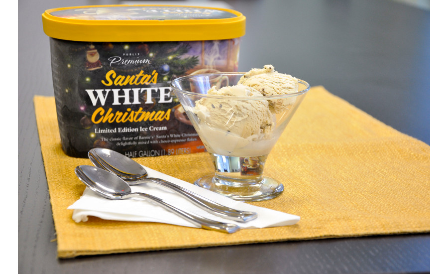 santa s white christmas coffee ice cream returns to publix for the season 2015 10 17 dairy foods