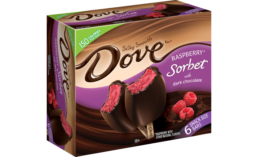 Dove Sorbet Bars - Raspberry Dark Chocolate