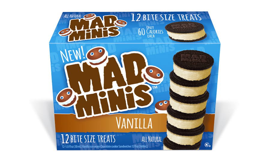 Mad Minis ice cream sandwiches