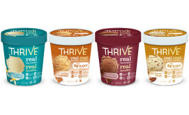 Thrive Frozen Nutrition ice cream pints