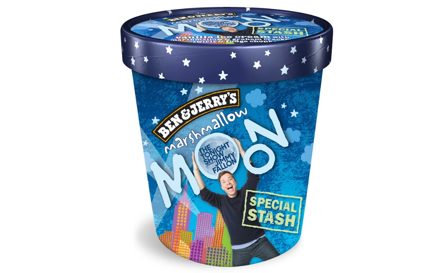 Ben & Jerry's Jimmy Fallon Marshmallow Moon