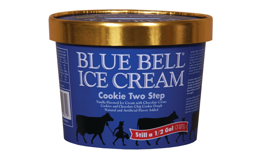 Blue Bell Cookie Two Step flavor