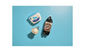 Blue Bunny root beer float promotion